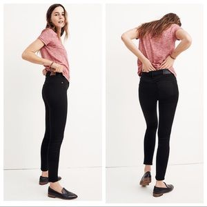 Madewell 8 Inch Skinny Jeans in Carbondale